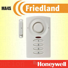 Friedland Magnetic Door Contact Security Burglar Keypad Entry Alarm 90dB Siren