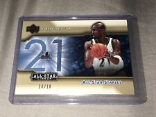 Kevin Garnett 2004 Upper Deck-Diamond Collection-All Star Staple /10 eBay 1 Of 1