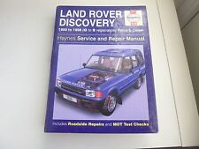 Haynes Land Rover Discovery MANUALE 1989 a 1998 BENZINA E DIESEL