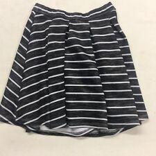 Abercrombie - Girls Skirt - Lined, Pull-On - Gray- Size S (10) - EUC