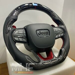 2018-2021 Jeep Grand Cherokee SRT / TrackHawk Carbon Steering Wheel