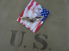 US Army Airforce Pilot Wings  Pin USAF USAAF Marines Collar Badge WK2 WKII WW2