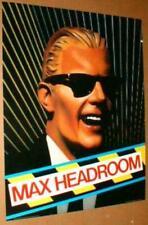 MAX HEADROOM 1986 Original Poster near MINT