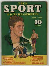 True Sport Picture Stories (1942) Vol 1 #6 2nd Issue Billy Conn Boxing Cover FN-