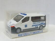 RIETZE 51363 Renault Trafic Ambulances Pepin OVP 1:87 // UU3711