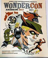 WonderCon 2017 Program Darwyn Cooke Cover Art DC Comics Michael Sho Supergirl