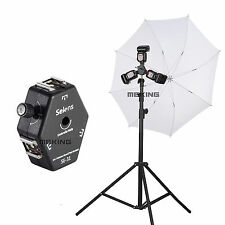 Selens Se-31 Triple Mount Flash Bracket Light Stand Umbrella Speedlite Holder