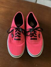 Hot Pink Vans Shoes Men's Size 8/Women's Size 9.5