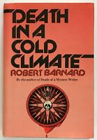 Robert Barnard: Death in a Cold Climate SIGNED FIRST EDITION