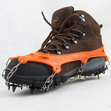 11 Teeth Claws Crampons Non-slip Shoes Cover Chain Outdoor Ski Ice Snow Climbing