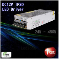 DC12V Top Quality LED Driver Power Supply Transformer LED Strip Light MR16, CCTV