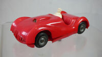 Rare Vintage Triang Red  Plastic Race Racing no 20 Car With Driver Classic Toy