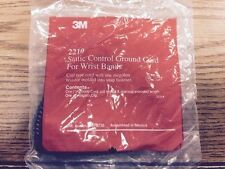 3M 2210 ESD  Static control ground cord for Charge-guard wrist band coil type