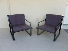 Pair Of 70'S Knoll Hannah Morrison Lounge Chairs