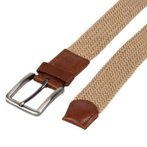 NWOB Men's Tommy Bahama Stretch Braided Belt Variety Leather Tabs