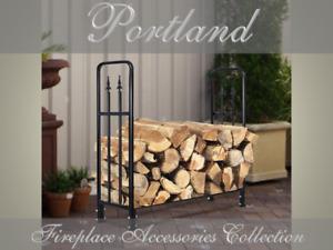 WOODFIRESTOVE Firewood Rack Wood Holder / Fireplace Log Rack / Wood Holder(PORT)