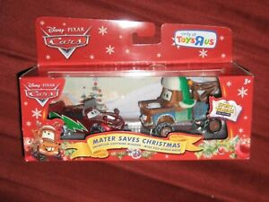 DISNEY CARS: 2 CAR GIFT PACK - MATER SAVES CHRISTMAS (T36)