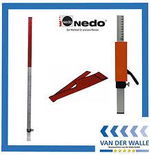 Nedo Flexilatte Set inkl.Universaladapter mit Schnellklemmung+ Hülle 360916-622