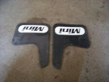 Classic Mini Mudflaps in very good condition