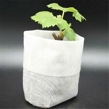 100PCS Fabric Pots Plant Root Pouch Container Grow Bag Aeration Container Garden