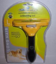 FURminator Short Hair deShedding Tool for Large Dogs up to 90 LB Reduce Shedding