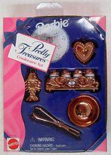 Barbie Pretty Treasures 10 Piece Brass Cookware Set (NEW)
