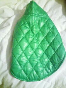 Soft Warm Puffy Jacket. New With Tags. Dog Puppy Pet Coat. Bright Green. Medium.