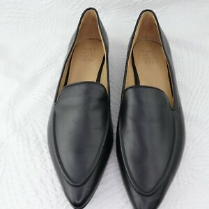NWT Naturalizer Women's Haines Black Leather Slip-On Loafer Shoes Size 10.5M