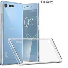 NUOVO Trasparente Chiaro Morbido Indietro Cellulare Custodia Cover Sony Samsung Apple HUAWEI MODELLO