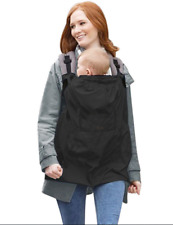 Sun Rain Cover Backpack Wrap Windproof Suspender Cloak Carrier For Baby Outdoor