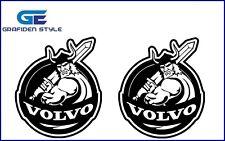 2 Stück  VOLVO VIKING Aufkleber - Sticker - Decal !