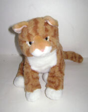 Webkinz Signature Tabby Cat Kitten Wks1016 by Ganz Plush Stuffed Orange Rare