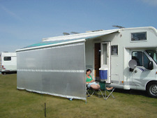 Motorhome & Caravan Awning Blocker Panel. Fit Fiamma & Omnistor. Waterproof