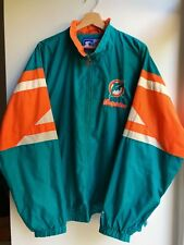 Vintage Miami Dolphins NFL Jacket Starter XL Made in Korea 90s Football Retro