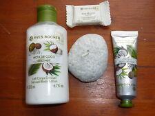 LOT Yves Rocher- Noix de coco lait  corps+pastille bain+crème à mains, neufs!