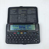 Franklin Bookman Personal Electronic Organizer 128KB ORG-560 & 2 Cartridges