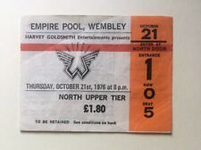 Beatles Paul McCartney Wings 1976 Concert Ticket Wembley London Rare