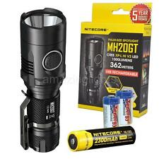Nitecore MH20GT 1000 Lumen USB Rechargeable LED Flashlight w/ 18650 Battery