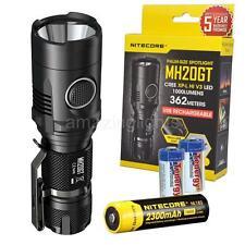 Nitecore MH20GT 1000 Lumen USB Rechargeable LED Flashlight w/ 18650 Battery