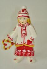Lisa mit Herz Scandinavia Christmas Children  Villeroy & Boch