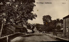 Cawthorne. The Village # 80461 by Valentine's for Regent Series, Barnsley.