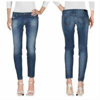 NWT DIESEL Women's R670I Grupee-Ankle Low Waist Super Slim Skinny Jeans 30 x 32