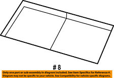 Dodge CHRYSLER OEM 10-11 Nitro Interior-Rear-Storage Box 1PB851DVAA