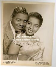 ORIGINAL 1950's 8x10 Publicity Photo Shirley & Lee The Sweethearts of the Blues