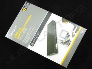 Targus USB 2.0 DVI Video Docking Station Port Replicator for Alienware Laptop