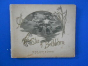 EC NESBIT: THE STAR OF BETHLEHEM: RARE FIRST EDITION BY AUTHOR OF RAILWAY CHILN