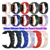 Armband Klassisch Silikon Sport Strap Watch Band 20mm For Huami Amazfit Bip