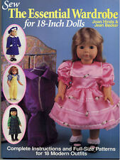 Sew Modern Outfits for Today's Popular 18-inch Dolls Becker & Hinds NEW