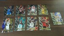 NBA Trading Cards Fleer Metal 1996-97 Metallized Inserts 9 Card Lot
