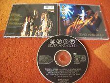 A.S.A.P. - silver and gold.. original 1989  CD album... iron maiden